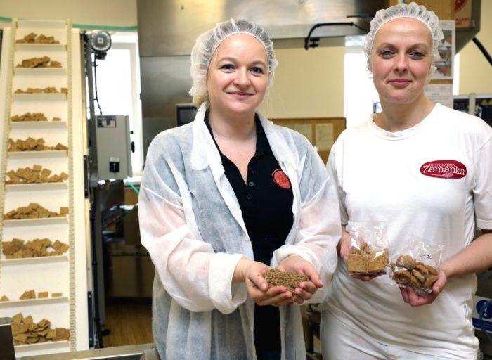 Plzeňský Prazdroj zkouší využít mláto na sušenky