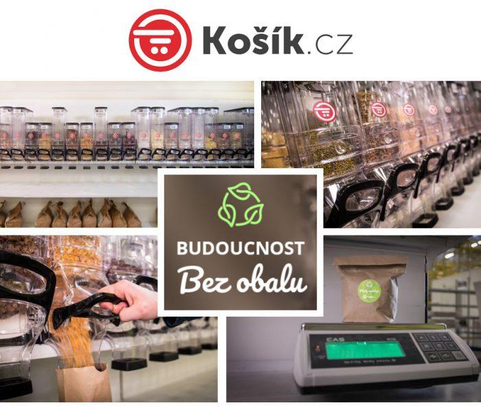Košík.cz bojuje za budoucnost bez jednorázových obalů