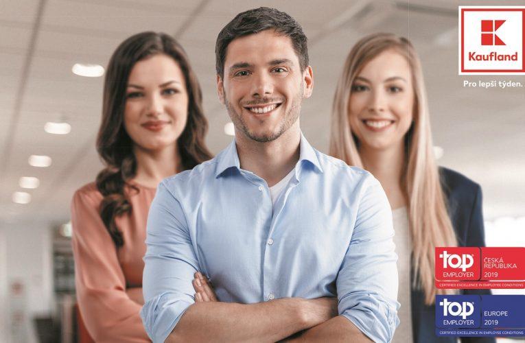 Kaufland získal prestižní ocenění Top Employer 2019 na národní i celoevropské úrovni