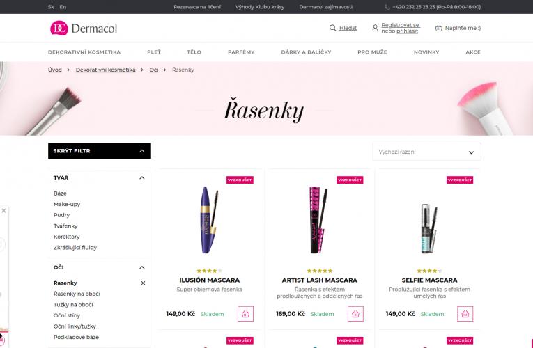 Virtooal.com se spojil s producentem kosmetiky Dermacol