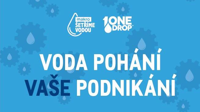 MAKRO na Světový den vody pomůže čtvrt milionu lidí k čisté vodě