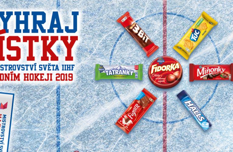 Mondelēz International je sponzorem Mistrovství světa IIHF v ledním hokeji 2019 na Slovensku
