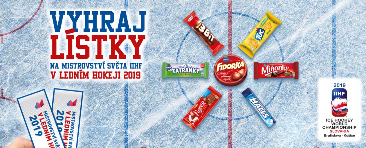 29b3ec1f70059 Mondelēz International, výrobce cukrovinek a pečených produktů, se stal  oficiálním sponzorem IIHF Mistrovství světa v ledním hokeji 2019 na  Slovensku.