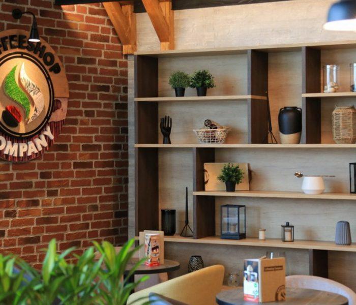 Ross tvoří jedinečný design pro Coffeshop company