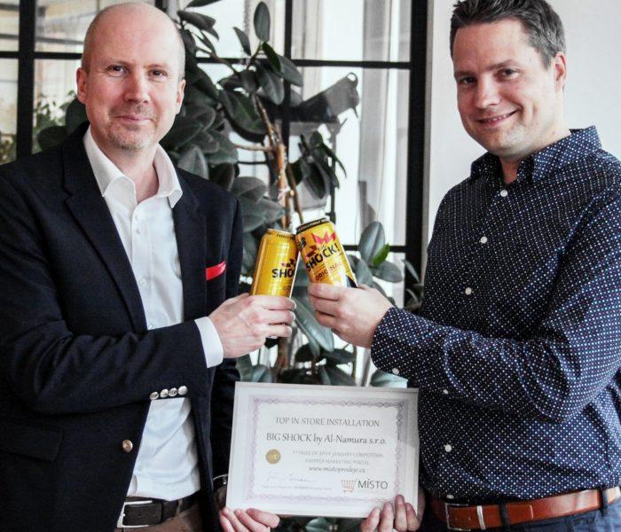 Společnost Al-Namura převzala ocenění za TOP In-store realizaci měsíce ledna 2019