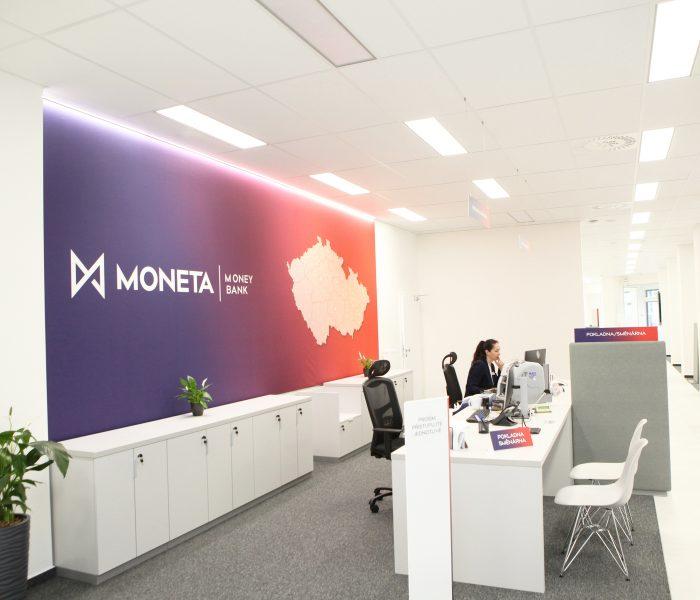 MONETA Money Bank otevřela již třicátou modernizovanou pobočku, tentokrát v Chomutově