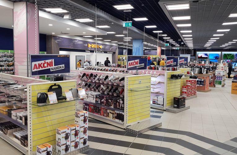 Datart zmodernizoval prodejnu v Centro Zlín
