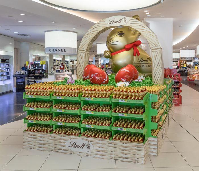 Lindt velikonoční košík