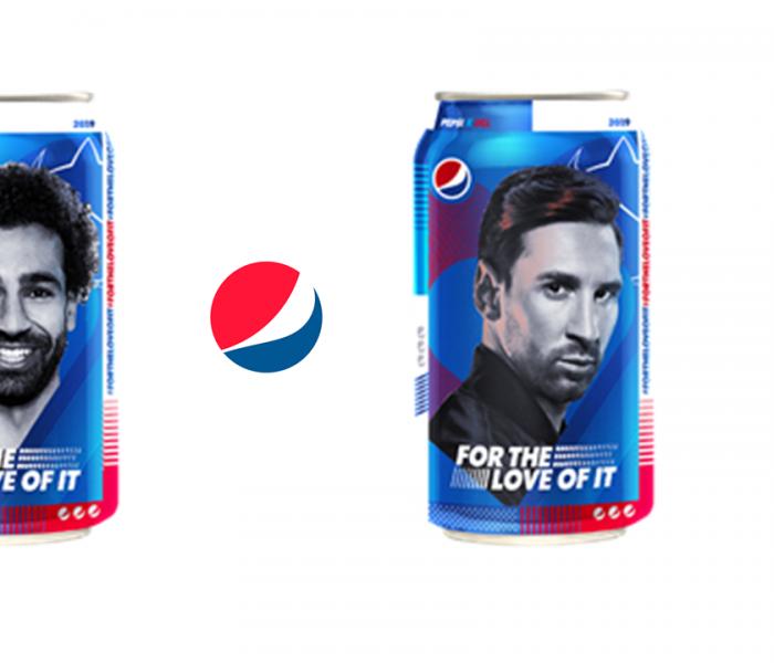 Fotbalová kampaň Pepsi přináší soutěž o zájezd na finále Ligy mistrů i limitovanou edici plechovek