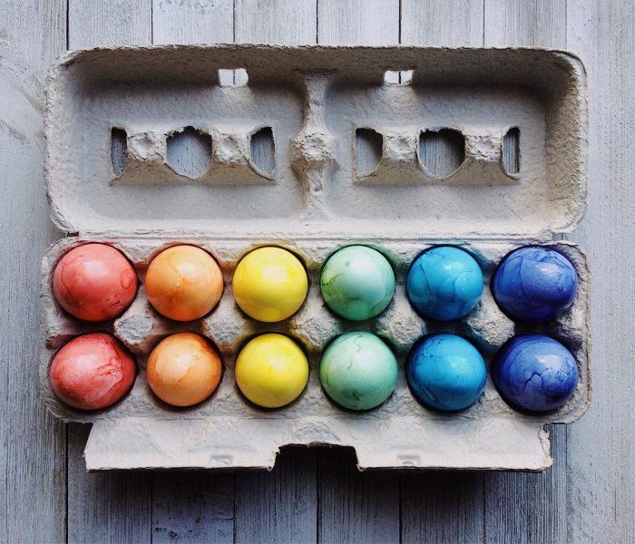 Ve velikonočních letácích je poprvé široká nabídka vajec s garancí původu