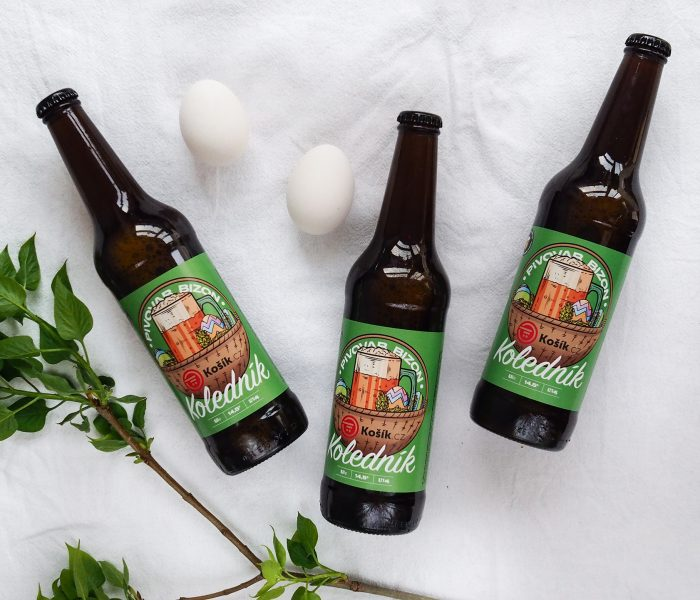 Košík.cz oslaví Velikonoce privátním pivem Koledník