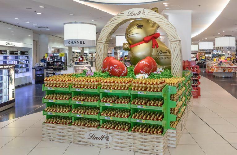 Ocenění TOP In-store realizace měsíce března 2019 získala kampaň Lindt velikonoční košík
