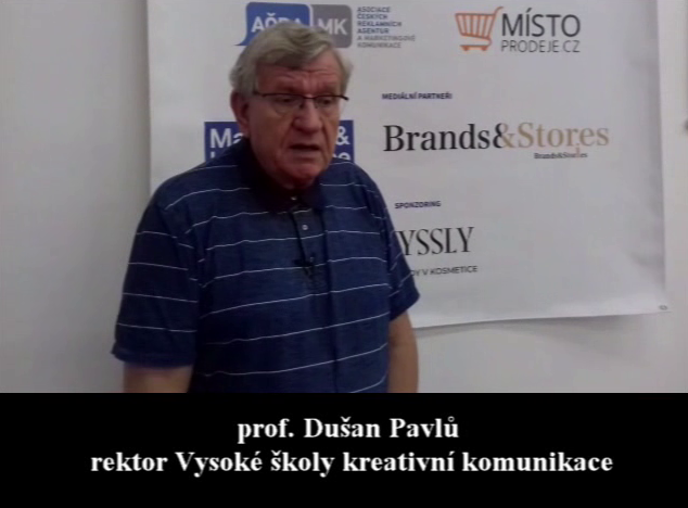 VIDEOANKETA  17. – prof. Dušan Pavlů – Vysoká škola kreativní komunikace