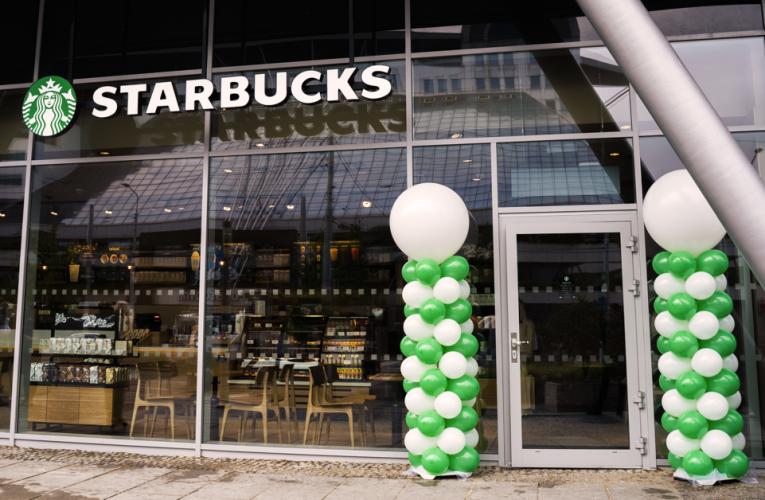 Starbucks vstupuje do nového regionu a otevírá  první kavárnu v Pardubicích