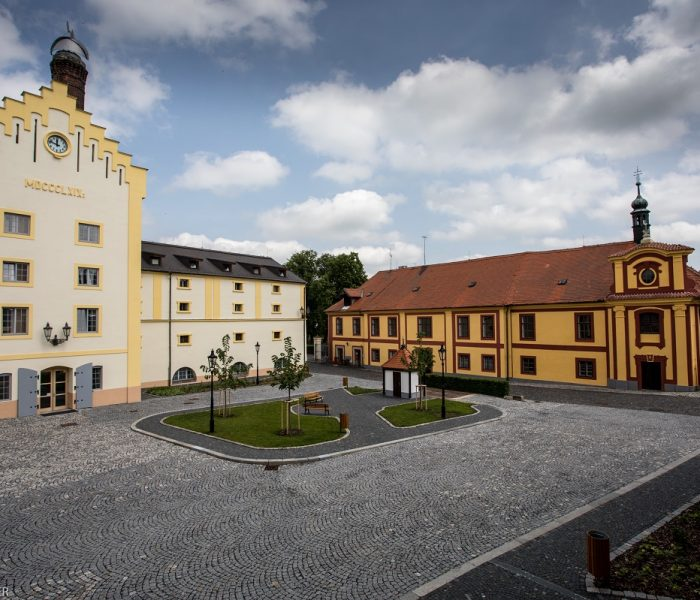 Pivovar Krušovice otevírá zrekonstruované nádvoří a nové pivovarské muzeum
