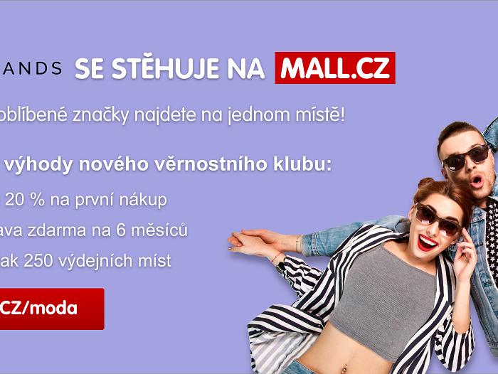 MALL.CZ stěhuje Bigbrands i Proděti.cz a spouští největší nákupní svět s dětským zbožím