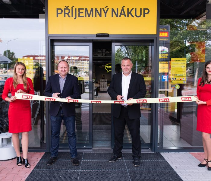 BILLA otevřela novou prodejnu v Milovicích