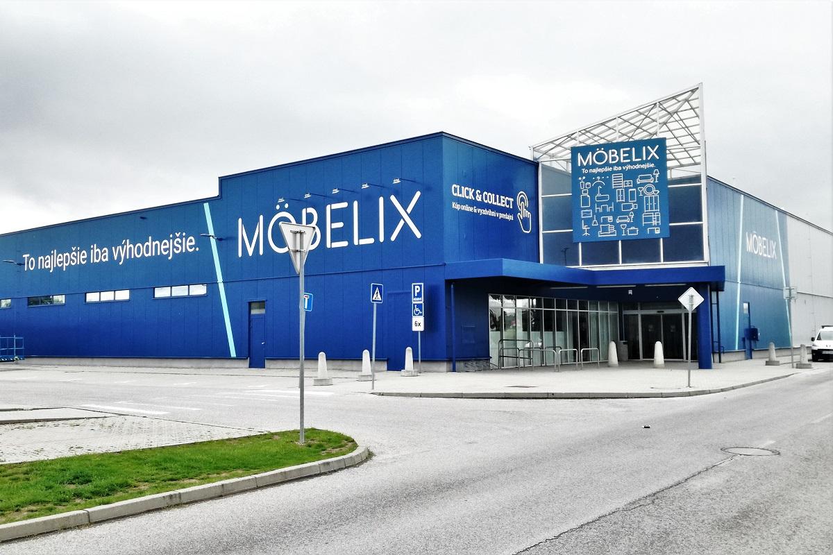 Möbelix v Levicích poprvé představil nový koncept prodejny