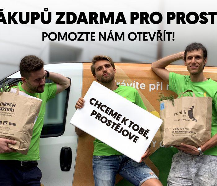 Rohlík.cz vyzval občany a plánuje otevřít novou lokalitu v Prostějově
