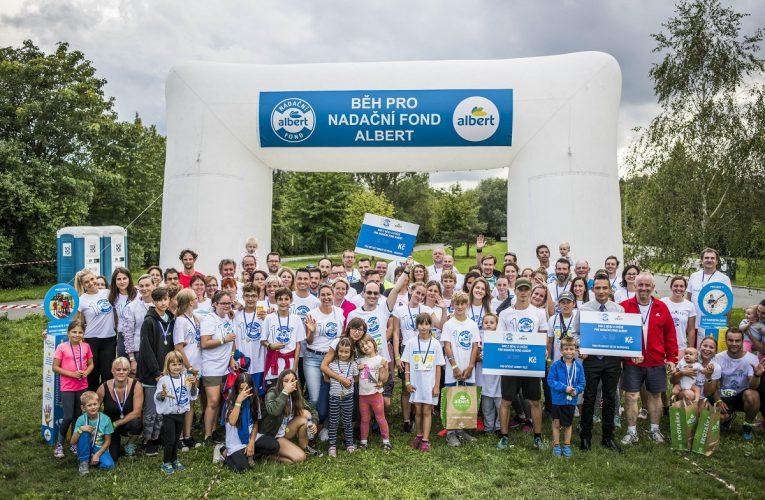 Zaměstnanci Alberta vyběhali 109 500 korun pro děti z dětských domovů