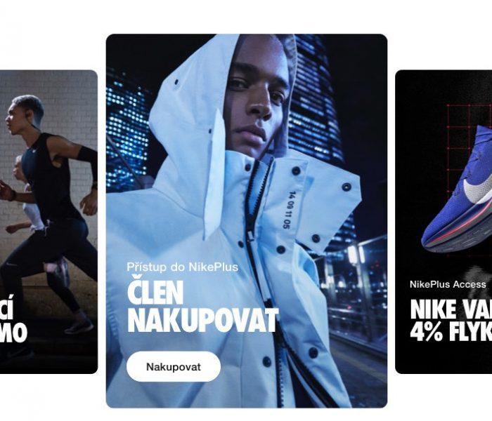 Nike spouští nákupní aplikaci Nike App v České republice