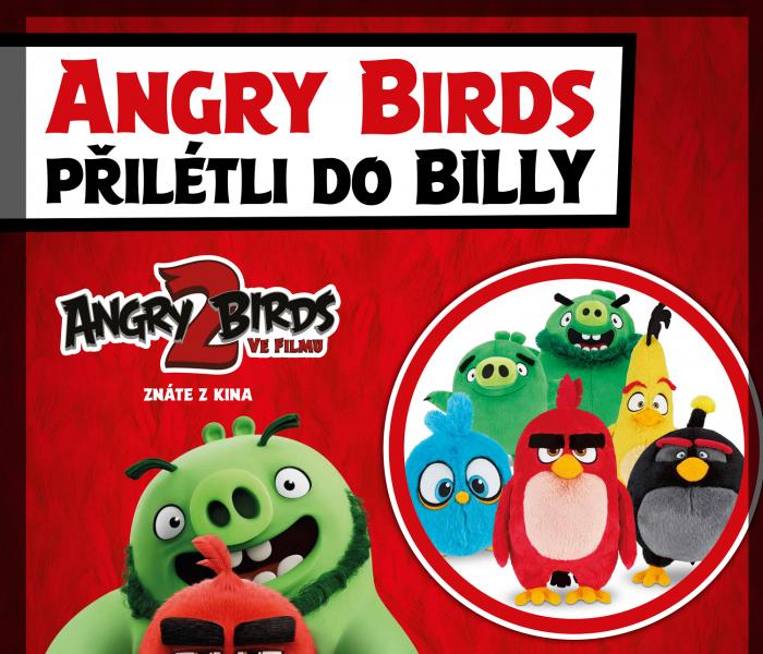 BILLA spouští novou věrnostní kampaň s plyšáky Angry Birds