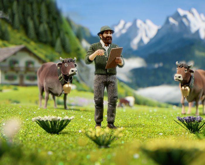 Milka vnové kampani poukazuje na alpský původ mléka ve své čokoládě