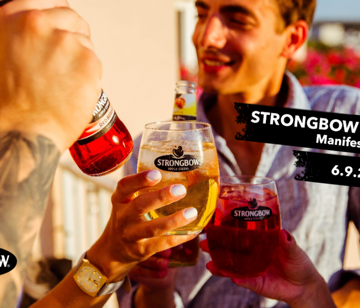Strongbow zve na apple party v Manifestu na Florenci