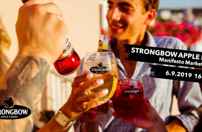 Strongbow zve na apple party v Manifestu na Florenci
