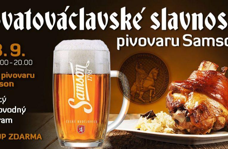 Svatováclavské slavnosti pivovaru Samson
