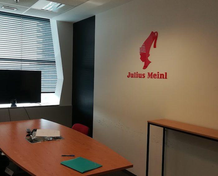 Meetingroom společnosti Julius Meinl od společnosti Ross