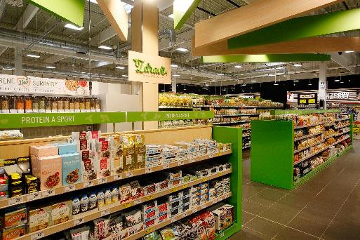 Již třetí pražský hypermarket Albert se představil v novém – tentokrát v Nových Butovicích