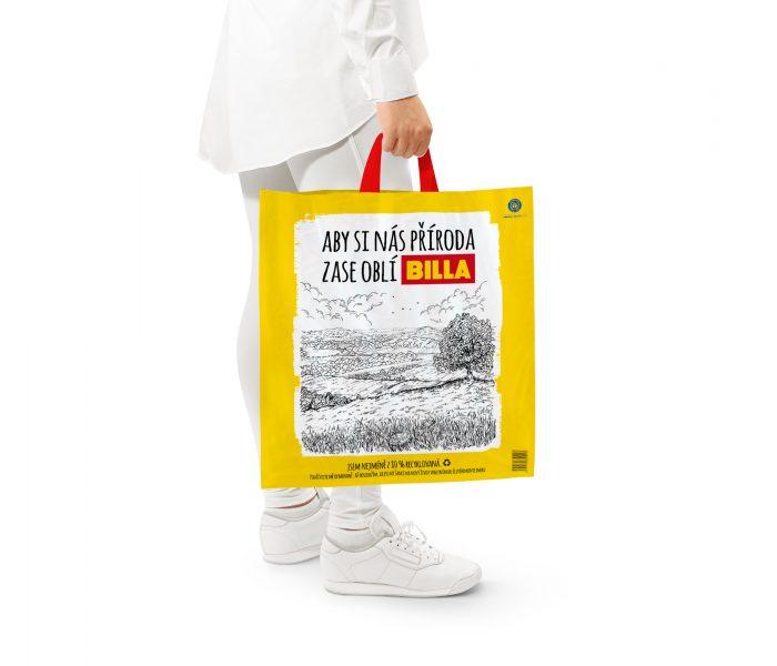 BILLA zavádí tašky z recyklovaného plastu