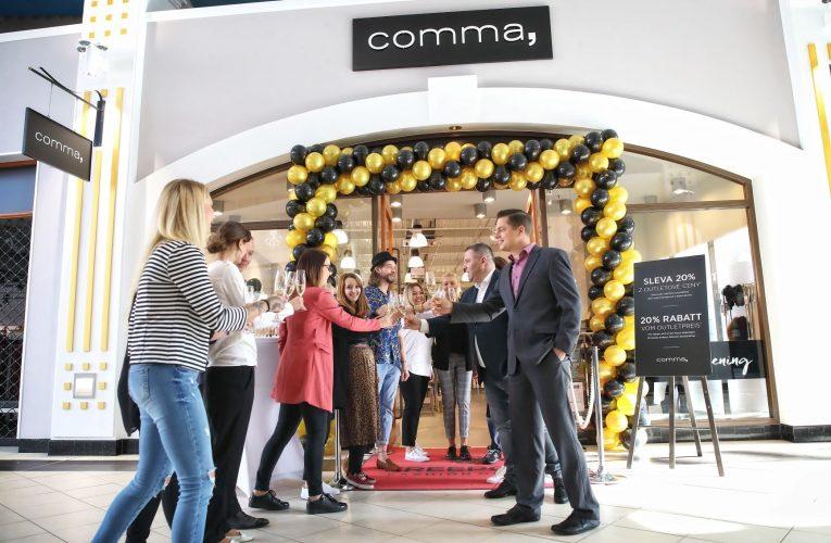 Značka Comma otevírá ve Freeportu svůj první kamenný obchod v ČR