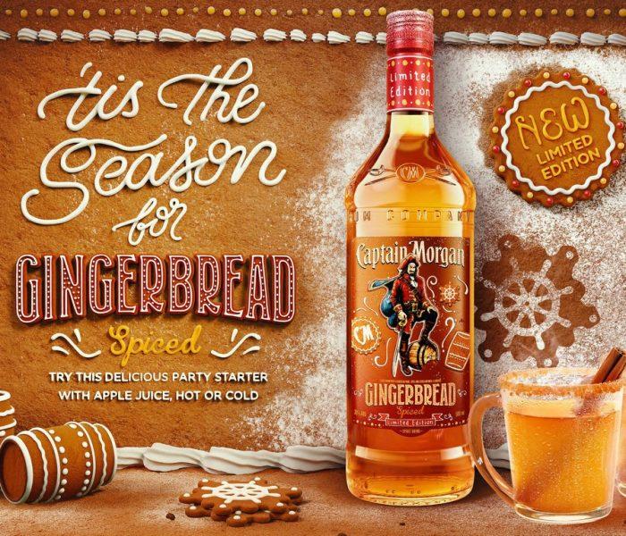 Limitovaná edice Captain Morgan Gingerbread