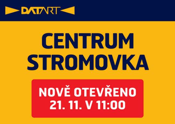 DATART otevírá prodejnu v novém Centru Stromovka