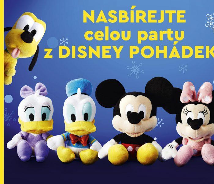 Nákupy v Lidlu zpestří Disney Plyšáci