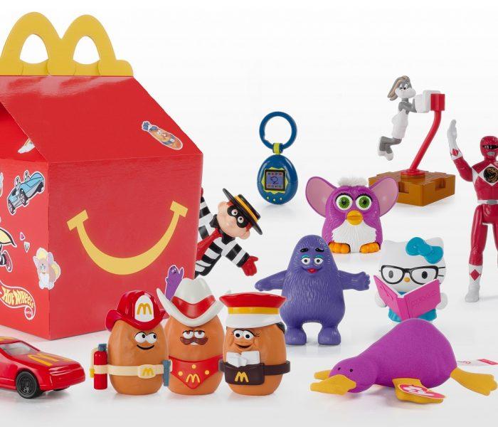 McDonald's uvádí na trh limitovanou edici Surprise Happy Meal