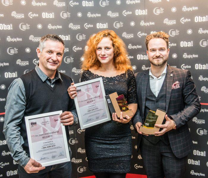 Nová láhev Staré žitné myslivecké Reserve vyhrála soutěž Obal roku