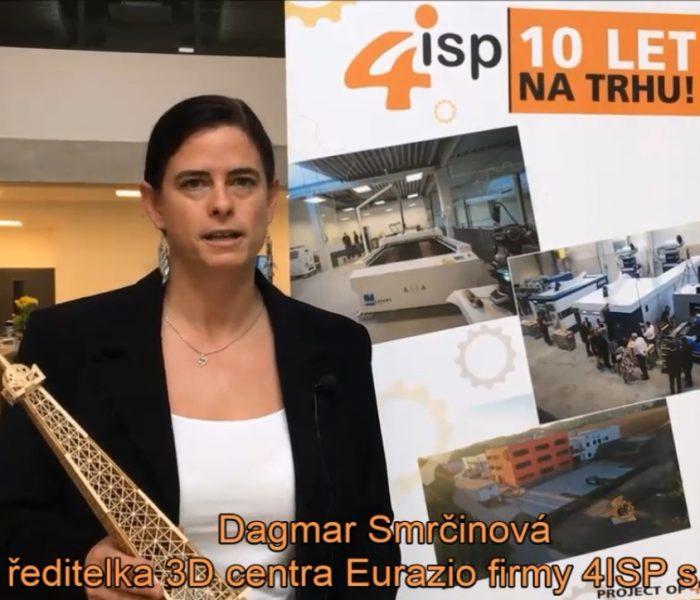 VIDEOANKETA 27. – Dagmar Smrčinová – EURAZIO CENTER firmy 4ISP
