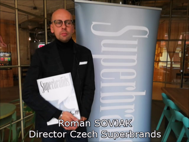 VIDEOANKETA 26. – Roman Sovják – Czech Superbrands