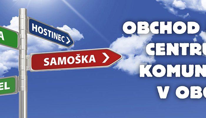 Kongres SAMOŠKA – obchod jako centrum komunity v obci