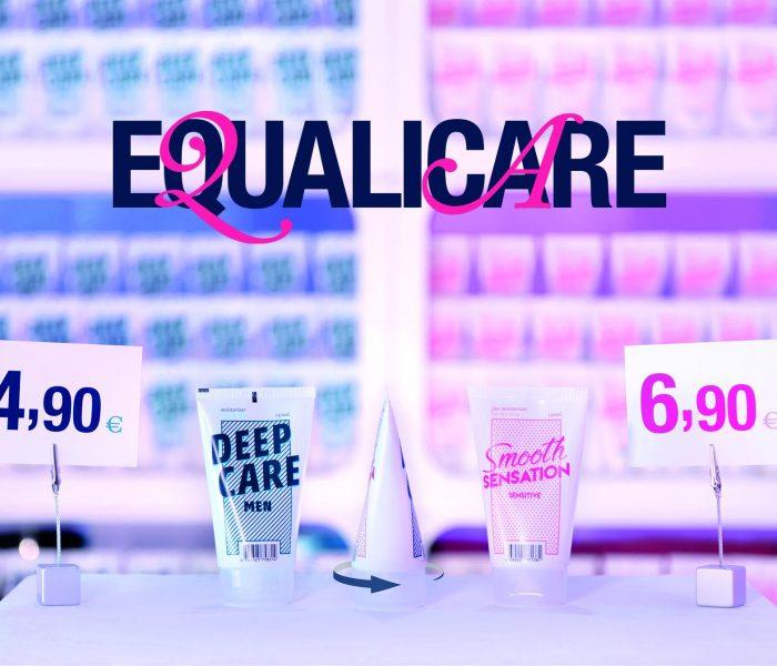 Německá ambientní kampaň Equalicare upozorňuje kreativním způsobem na téma Pink Tax