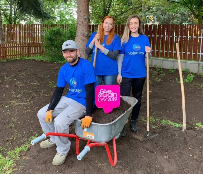 Procter & Gamble slaví Mezinárodní den dobrovolníků
