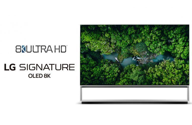 Televizory LG jako první zcela splní novou definici pro rozlišení 8K ULTRA HD