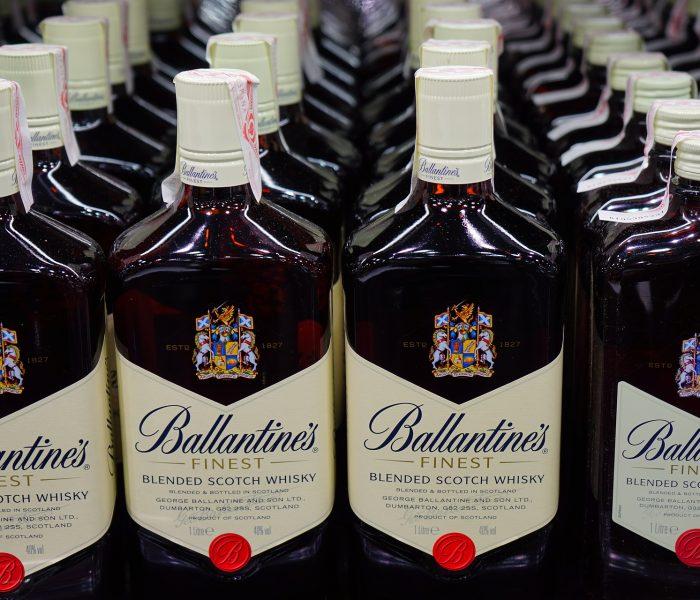 Předvánoční nákupy tvrdého alkoholu