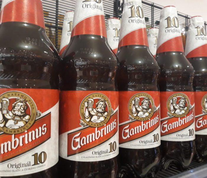 Gambrinus skončil sPET lahvemi
