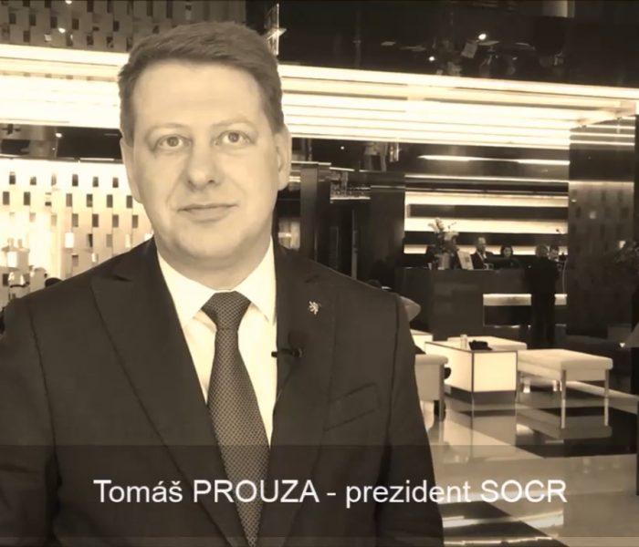 VIDEOANKETA 31. – Tomáš Prouza – prezident SOCR