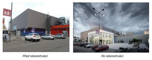 Remodeling OC Čtyři Dvory v Českých Budějovicích