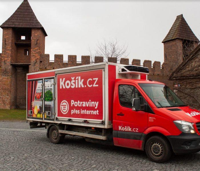 Košík.cz míří do Polabí – pokryje Kolín, Kutnou Horu, Poděbrady a Nymburk